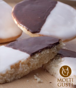 New York Style Black & White Cookie by Molti Gusti