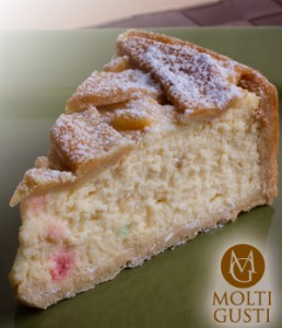 Roman Style Cheesecake from Molti Gusti